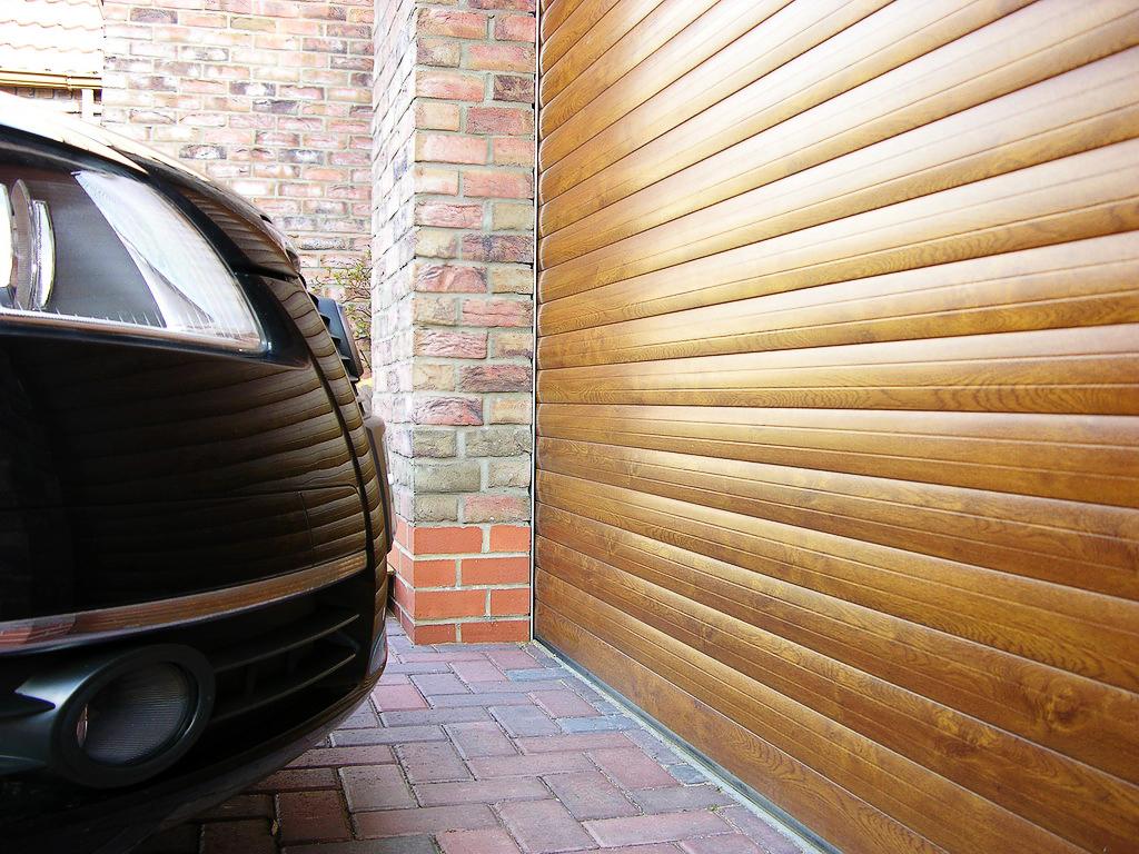 ворота рольставни гаражные