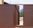 фото откатных ворот